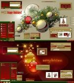 Christmas Holidays Gold Theme by adni18